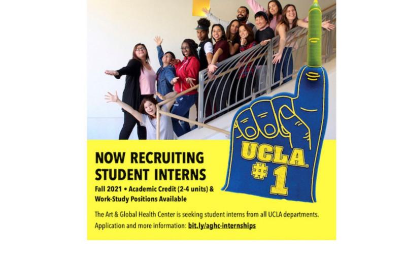 Art & Global Health Center Now Recruiting Student Interns