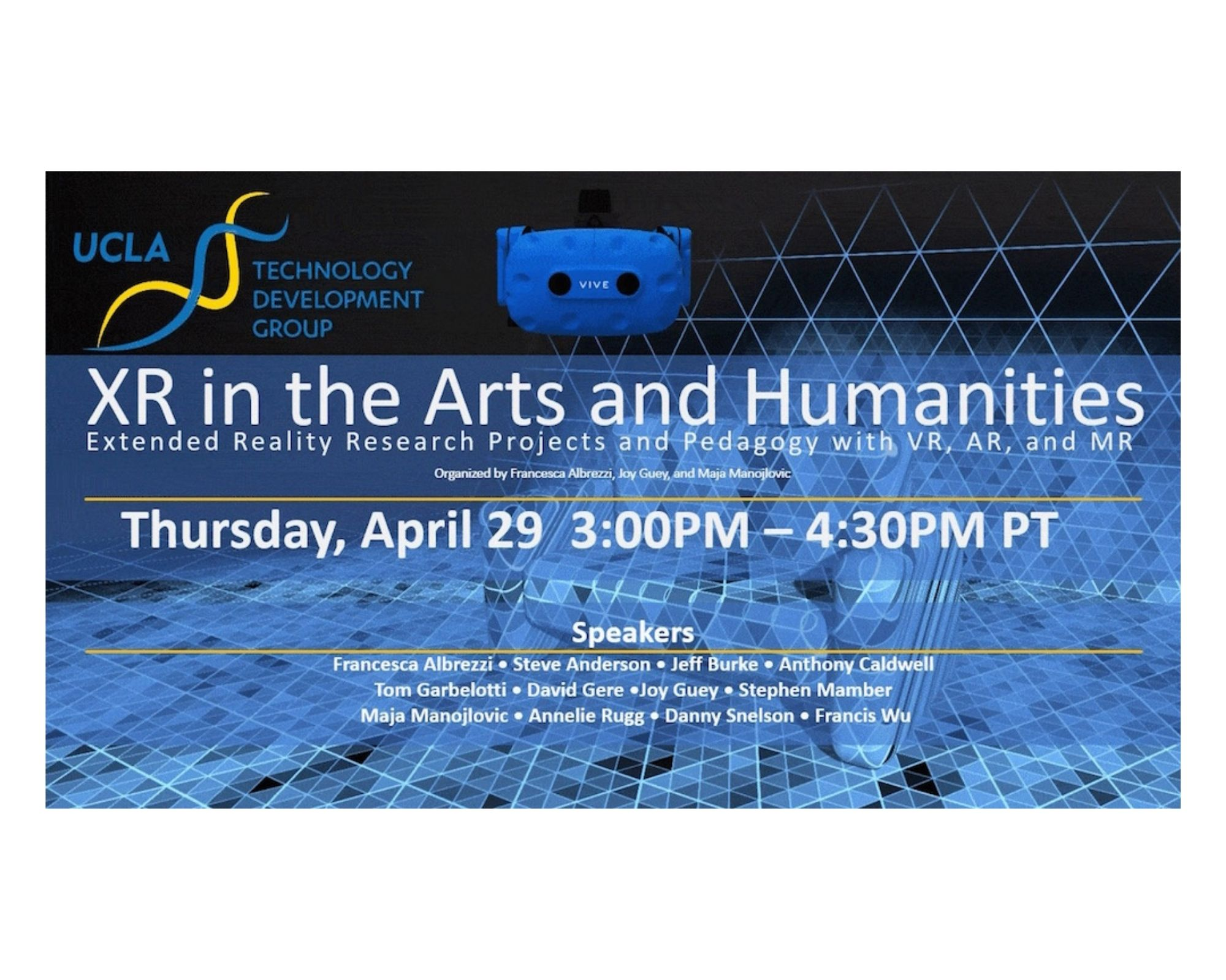 XR IN THE ARTS AND HUMANITIES: Through Positive Eyes at the Fowler Museum